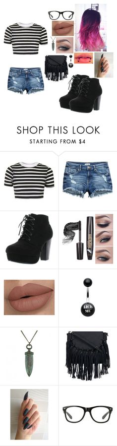 """Untitled #544"" by kyranfisher18 ❤ liked on Polyvore featuring Topshop, Forever Link and Ornamental Things"