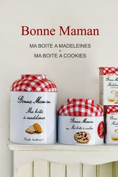 Bonne Maman の限定プレミアム缶入りマドレーヌ&クッキー