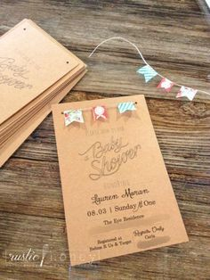 Country chic, gender-neutral baby shower invitation free printable! A cute, inexpensive DIY invite!