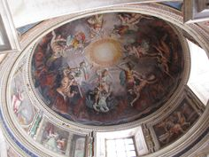 more ceiling art in the vatican museum...