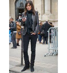 Emmanuelle Alt at Chanel - PFW feb 2012