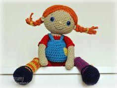 Smartapple Creations - amigurumi and crochet: Crochet Pippi Longstocking