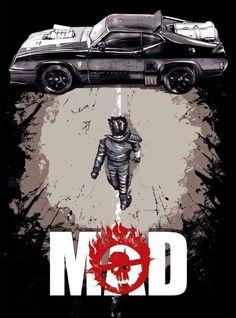 Mad Max - Akira-style - BossLogic Inc.