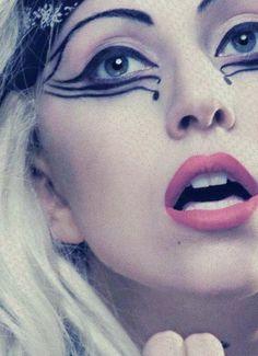 Linz!!! Judas- close up of eye make-up