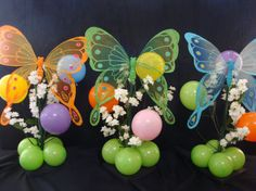 Butterfly table centerpieces  www.partyfiestadecor.com
