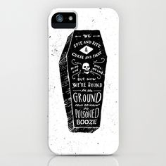 Poison iPhone Case by Jon Contino.