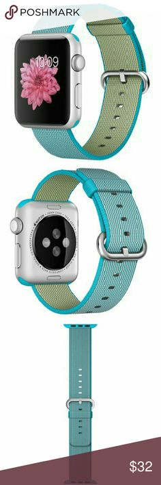 Apple Watch Band Nylon Turquoise 42mm New for 42mm.. band only!! Accessories Watches