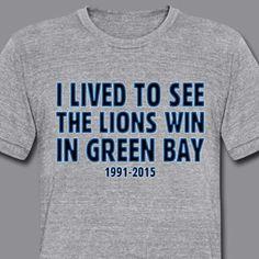 Detroit Lions Real Shirt Gnome