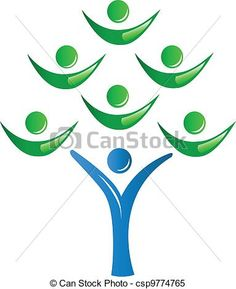Vector - Teamwork group of people as a tree - stock illustration, royalty free illustrations, stock clip art icon, stock clipart icons, logo, line art, EPS picture, pictures, graphic, graphics, drawing, drawings, vector image, artwork, EPS vector art