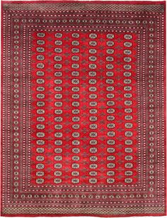 Red Bokhara Carpet/Rug No. 4921  http://www.alrug.com/4921