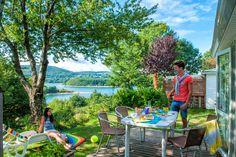 Profitez d'un petit déjeuner dans un incroyable cadre au camping 4* Rieumontagné à Nages ! Plus d'infos : https://www.tohapi.fr/midi-pyrenees/camping-rieumontagne.php