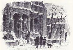 Illustration by Edward Ardizzone. library.