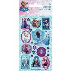 Disney Frozen Sticker 6 Blatt - Partytüte, 3,94€