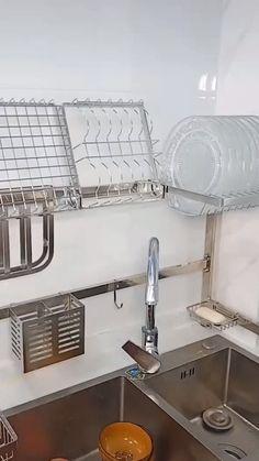 Scolapiatti – Type Of Kitchen Storage Kitchen Room Design, Home Decor Kitchen, Kitchen Furniture, Kitchen Interior, Home Kitchens, Kitchen Designs, Dream Kitchens, Kitchen Layout, Diy Furniture