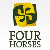 Love this idea with 3 equines-horse, mule, donkey in a circular integrated format.