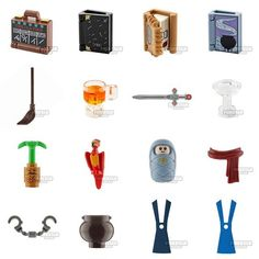 NEW HP CMF2 PARTS - 5  .  Available at firestartoys.com  .  #lego #afol #tfol #kfol  #harrypotterlego  #legoharrypotter   #bricknetwork #legophoto  #legography #toyphotography  #legostagram #legominifigure  #legominifigures #legominifigs  #legophotography #legogram  #legos #minifigurehq  #legolover #geekgifts  #legosigfig #sigfig #instalego  #brickinspired    #Regram via @CEy7_bzBE06 Lego Minifigs, Lego Photography, Lego Parts, Lego Harry Potter, Cool Lego, Lego Ideas, Geek Gifts, Lego Creations, Legos