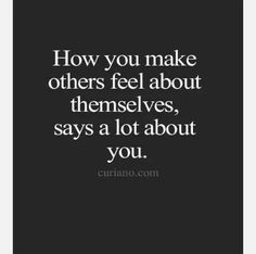 Others feel