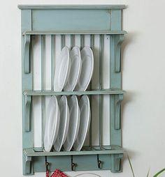 Plate Rack Blue