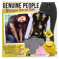 """GENUINE PEOPLE - Life can be so fun!"" by anita-n ❤ liked on Polyvore featuring мода, Graham & Brown, adidas NEO, Wet Seal, Converse и Etiquette"