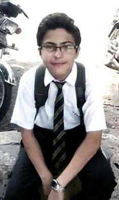 cute school boy (mubeen shah shaheed)