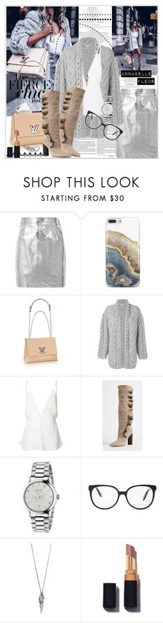 """""""Metallic For Day"""" by cjfdesign ❤ liked on Polyvore featuring Proenza Schouler, Nicole Miller, IRO, Christopher Esber, Gucci, Victoria Beckham, Chloe + Isabel, BloggerStyle, metallic and chloeandisabel"""