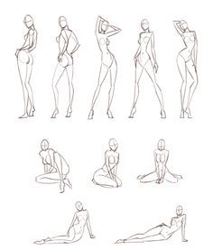 fashion design naked sketches - Google Search
