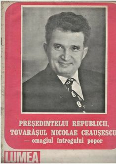 Romanian communist propaganda magazine LUMEA, Ceausescu on cover, 30 march 1989 Communist Propaganda, Greater Than, Resume, Magazines, March, Cover, Books, Ebay, Libros