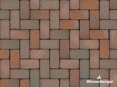 """The Wienerberger paver texture """"Retro Rotblaubunt"""" is a must have for everybody who loves autumn. Get your texture on our Norwegian website. Clay Pavers, Tile Floor, Autumn, Flooring, Texture, Website, Retro, Stone, Pictures"""