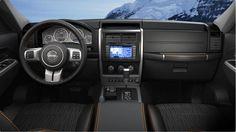 Jeep Liberty Arctic Interior