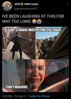 Marvel Funny, Marvel Memes, Marvel Avengers, Phase 4, Gif Pictures, How Do I Get, Disney Marvel, Doctor Strange, Sadness