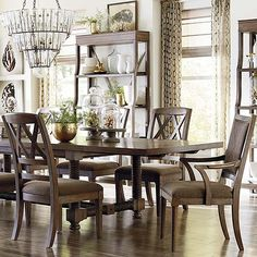 Compass 104 Trestle Dining Table