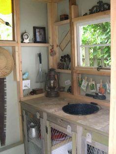 my garden shed interior