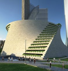 Museum of Contemporary Art in CityLife, Milan, Italy. More on this site http://www.city-life.it