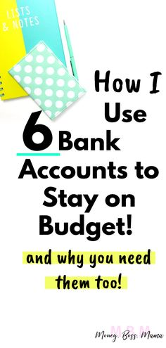 Can Multiple Bank Accounts Help You Stay on Budget? Heres How I Use Them : Can Multiple Bank Accounts Help You Stay on Budget? Heres How I Use Them Finance Bank, Personal Finance, Budgeting Finances, Budgeting Tips, Financial Tips, Financial Planning, Ways To Save Money, Money Tips, Saving Tips