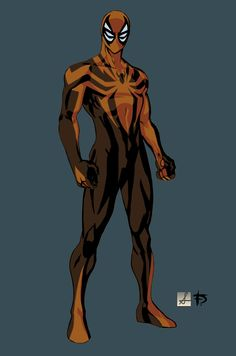 Spider-Man costume redesign By Dave Franciosa