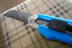 Learn how to cut vinyl with a hand tool.
