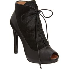 Proenza Schouler Lace-Up Ankle Boot (calf-hair) Love!