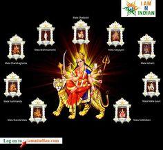 #Navratri Special : Know the nine Avatars of Durga login#iamnindian.com