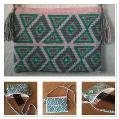 $55 Crocheted bag size S