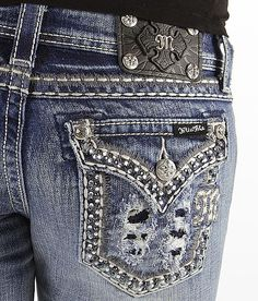 Miss Me Glitz Boot Stretch Jean #buckle #fashion www.buckle.com