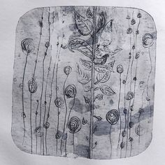 Müllerin Art Tetra Pak, Gravure, Artsy Fartsy, Printmaking, Stencils, Vintage World Maps, Mermaid, Journal, Patterns