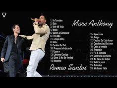 Marc Anthony Y Romeo Santos Sus Mejores Éxitos - YouTube