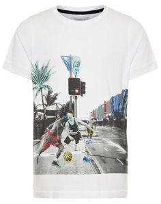 Shirt with basketball print by Name It. Birthday Basket, Ball Birthday Parties, Weaving Art, Design 24, Dollar Stores, Summer, Mens Tops, Kids Fashion, Basketball