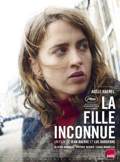 #cannes2016 La Fille Inconnue de J.-P. et L. Dardenne (2016-oct.). Pas joyeux, joyeux, comme un Dardenne (la culpabilité sous tous les angles), mais pourquoi pas ! c'est un Dardenne quand même !