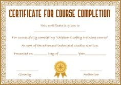 Training Certification Template from i.pinimg.com