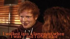 Oh Ed, you strange, strange child.