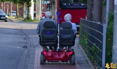 Per sempre insieme... via fuoriditesta.it: Together forever. #Photography #Double_Seated_ Mobility_Scooter
