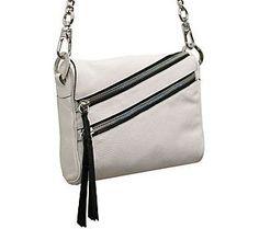 orYANY Skyler Italian Leather Crossbody