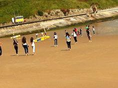 Pudieron ir hasta a la playa y fueron valientes de meterse jejeje  blog.cla-academiavalladolid.es