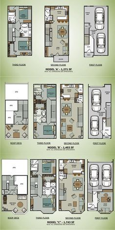 Cargo Container House Plans | Sawyer Brownstones [Terramark Homes] #containerhome #shippingcontainer